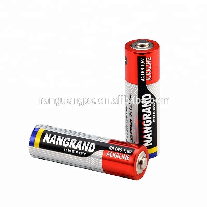 Super alkaline lr6 am3 aa battery