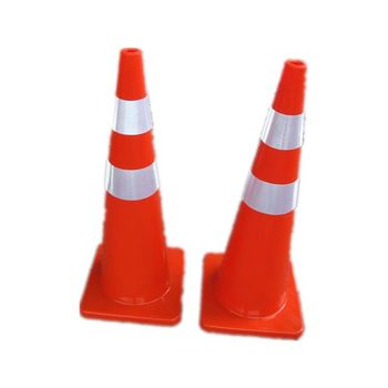 Roadway Safety Inflatable Traffic Cone Flexible PVC Road Traffic Cones