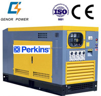 Shopping mall Soundproof electric diesel generator 30 kva