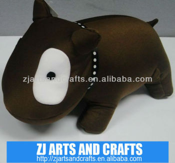 Microbeads animal pillow cute dog pillow