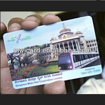 Big Discount CMYK Printing RFID HF EV1 4K Smart Card