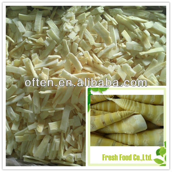 Hot selling frozen sliced bamboo shoot with best quality