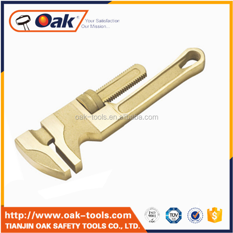 low price non sparking aluminium bronze monkey wrench pipe wrench