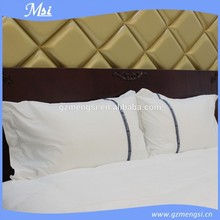 direct factroy made wholesale 100% cotton wholesale plain hotel white linen pillowcases/pillow bag/pillow cover