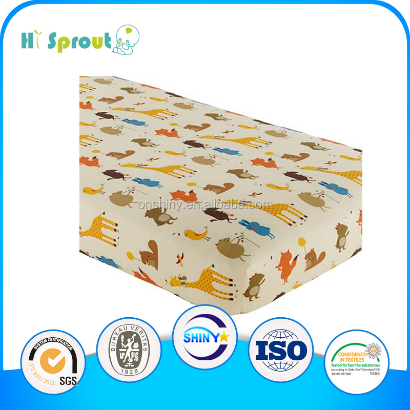 hot sale popular elastic 100% cotton bedding