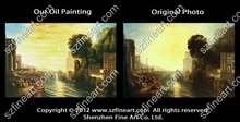 Famous artist oil painting of William Turner oil painting