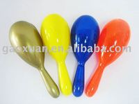 6.4*18.2cm High Quality Plastic Maraca for Promotion