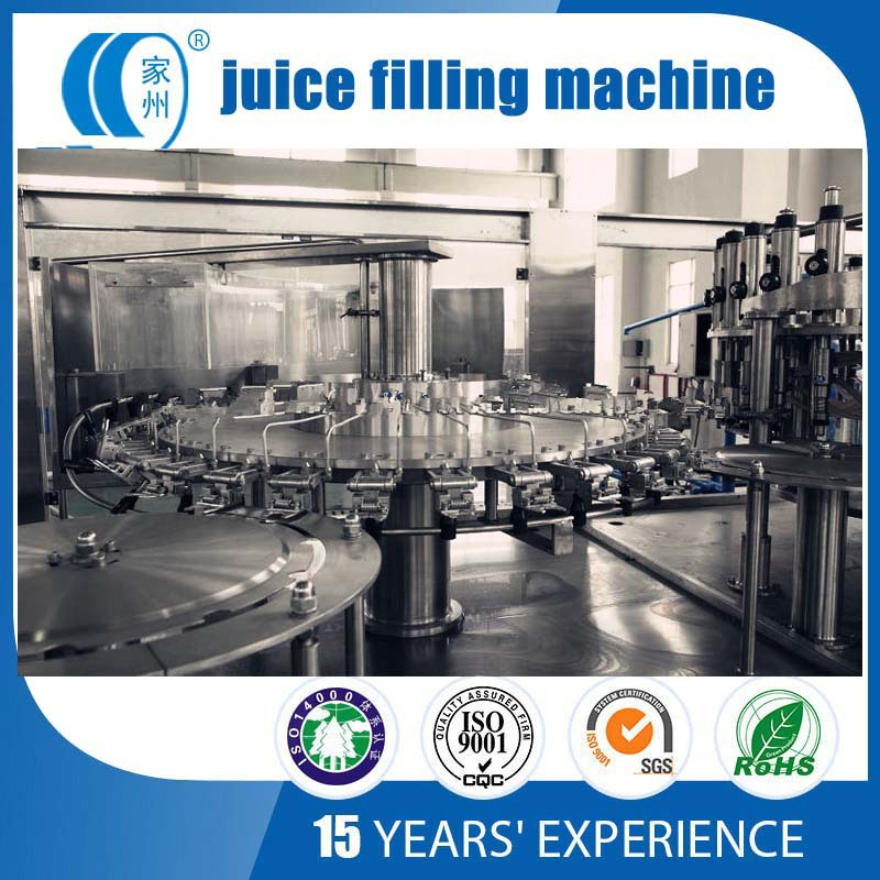 juice filling and capping plant