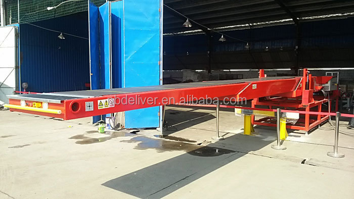 High Quality Telescopic Belt Conveyors For Loading