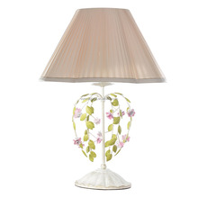 Russia housing willows branches decor bedroom reading table lamp