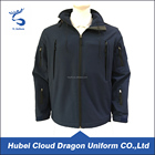 Waterproof blue security guard jackets men winter