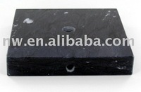 Black trophy marble base Square