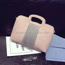 red Shoulder Gray Fashion tote Hot Pink Tassel Mimi bag