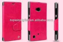 Win Series PU Leather Bepak Case For Nokia Lumia 720 Flip case