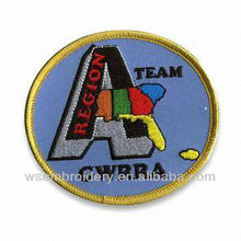 Association logo patch embroidery