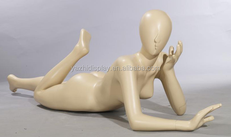 Cheap sexy lying down female mannequin for sale