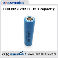 LG 3.7V 18650 Li-ion battery cell rechargeable Lithium ion batteries power bank Led flashlight