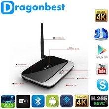 Cheap Smart Media Android TV Box CS918 with Bluetooth XBMC DLNA RK3188T Quad Core up To1.4 Ghz Mini PC 2G+8G