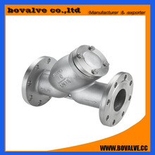 API stainless steels flange Y type strainer