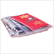 Hottest custom plastic resealable PE mylar clear ziplock bags for underwear / scarf