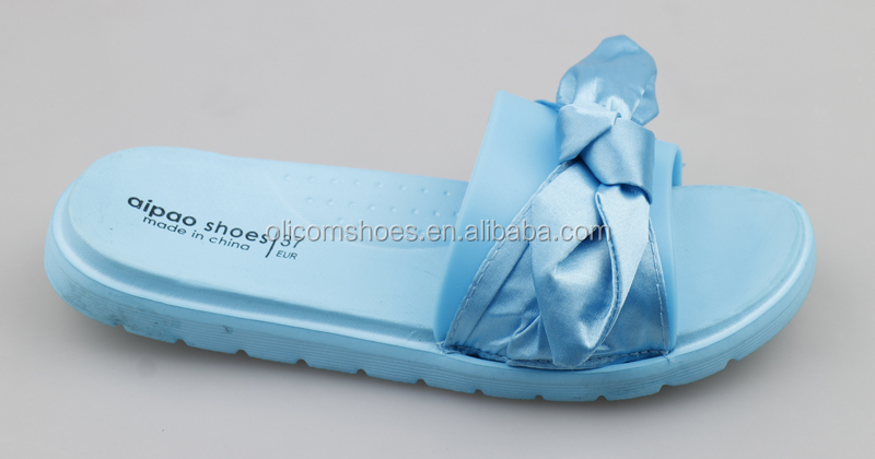 New Design Ladies Sandals Custom butterfly Knot Slippers/Slides/Sandals