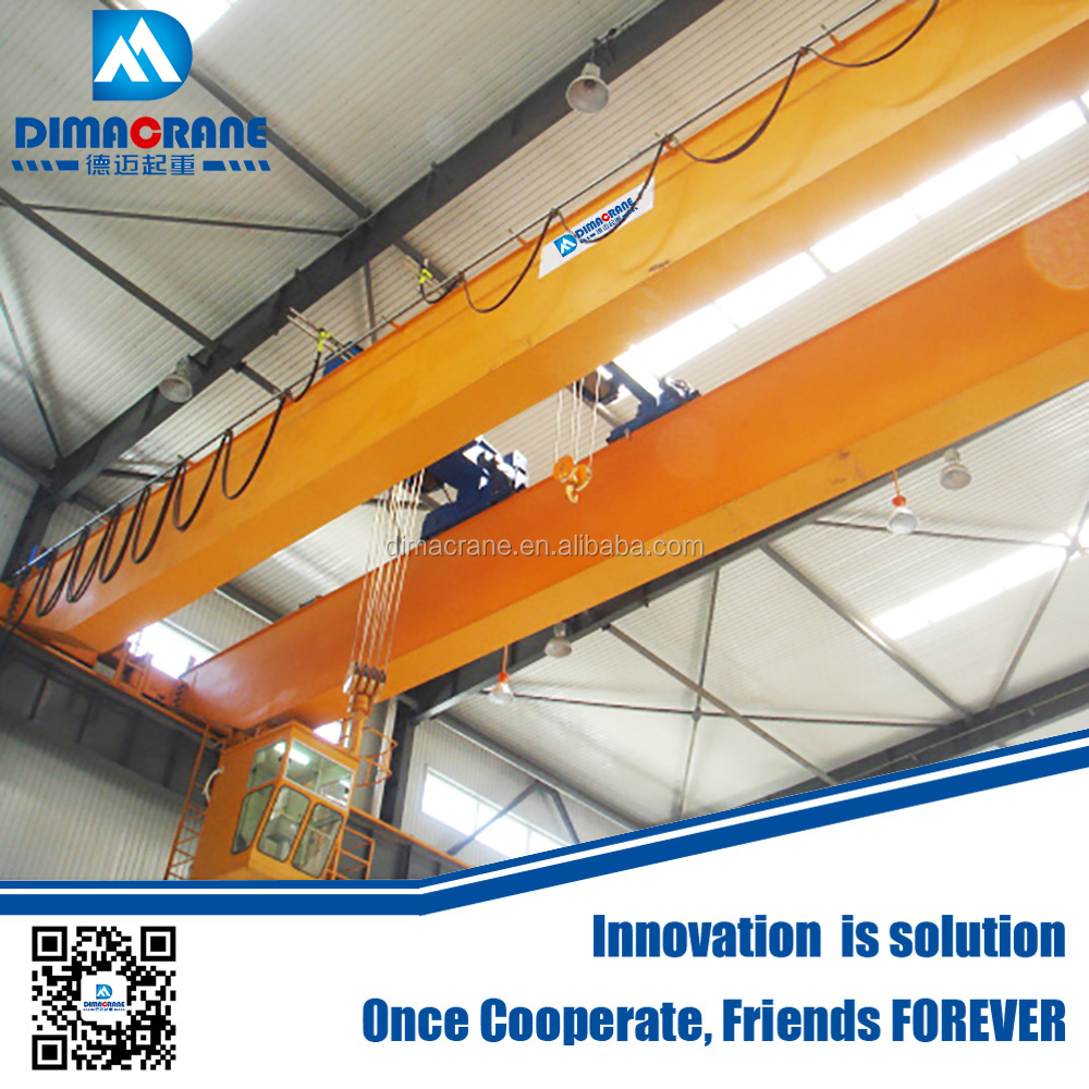 Europe style double beam Eot crane manufacturer