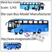 Custom metal model bus,bus 3d model,alloy mini bus model supplier from Guangdong,China