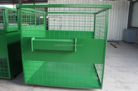 TG13 Customized design wire storage cage container mash box
