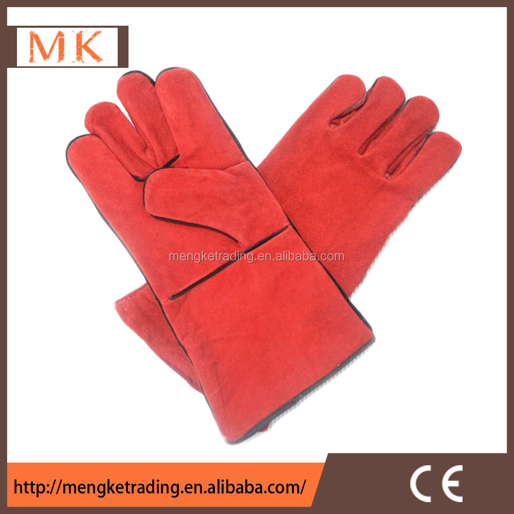 cheap working gloves leather outdoor working gloves