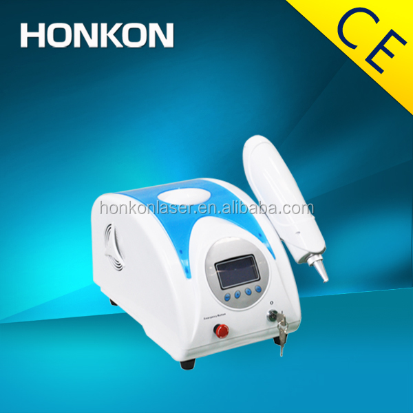 Home use Q-Switch ND:YAG Laser equipment Pigments Removal Skin tightening
