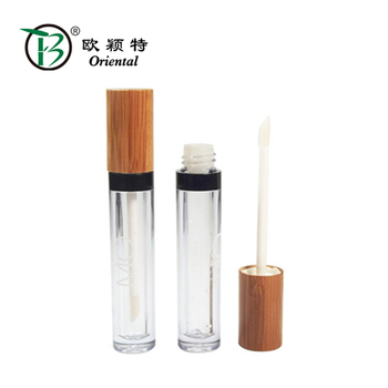 BLM-025 Hot selling bamboo lipgloss tube with low price