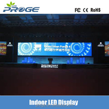 576x576mm cabinet lightweight ultra thin P3 indoor SMD full color rental stage display led