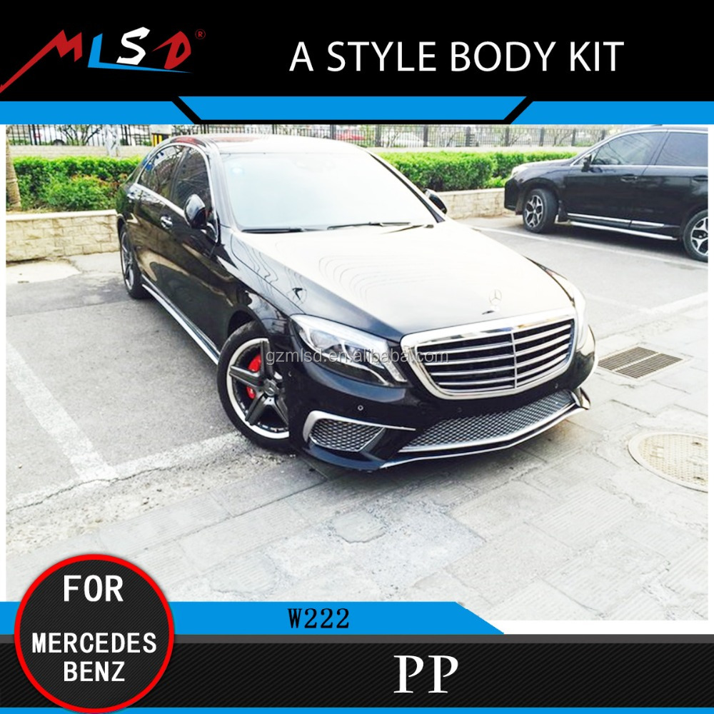 High Quality Perfect Fitment A Style Body Kits for Mercedes Benz W222
