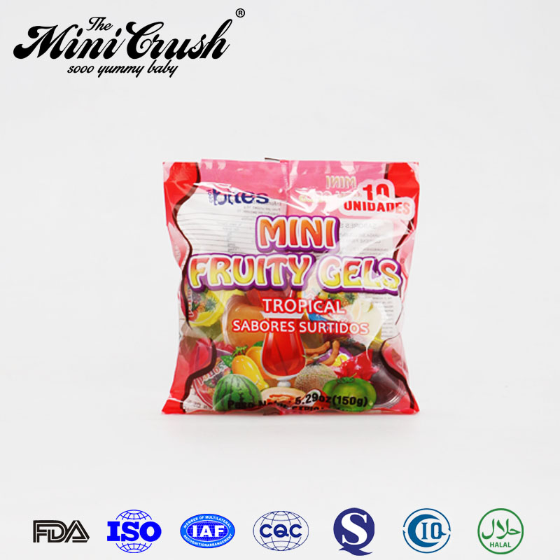Seaweed snack assorted mini fruit jelly coconut cup
