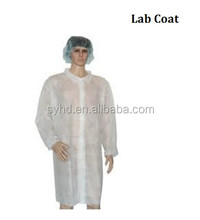 Hot Sale Cheap Disposable Lab Coat