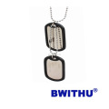 2016 BWITHU customized ID dog tag with plastic circle