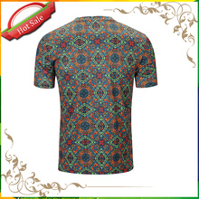 Wholesale Cheap Custom All Over Bulk Bamboo Mens T Shirt Printing