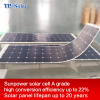 Factory Semi Flexible monocrystalline silicon solar panel wholesale solar energy system