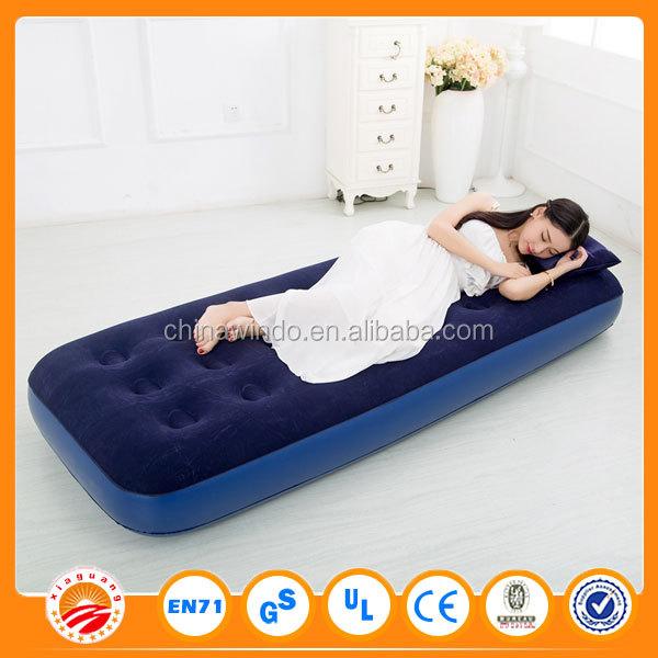 inflatable folding air mattress