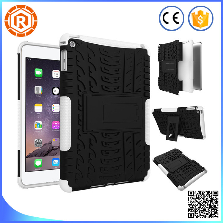 new products armor shockproof case cover for iPad mini 4
