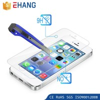 Mobile phone accessory 2.5D cartoon tempered glass film for iphone 5s
