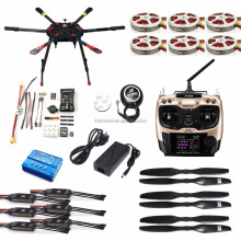 Full Set Hexacopter GPS Drone Aircraft Kit Tarot X6 6-Axle TL6X001 PX4 32 Bits Flight Controller Radiolink AT9S TX&RX F11283-C/D