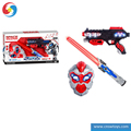 DD0715871 Shantou latest boy toy Battle cosplay game Toy space weapon set light music