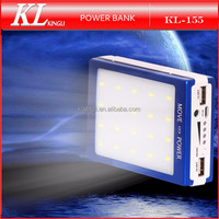 Solar Power Bank Charger 30000mah Solar Mobile Charger Usb Portable Power Bank With 20 LED light