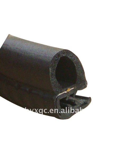 Rubber- steel-sponge composite seal strip