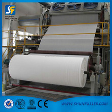 Napkin paper folding and embossing machinery