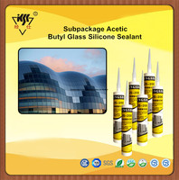 Subpackage Acetic Butyl Glass Silicone Sealant