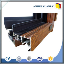 Powder coating pvc Aluminum Commercial Sliding Doors And Windows made in China
