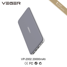 Veger mobile Power bank 20000mah,20000mah power bank,mobile power supply