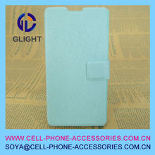 high end pu leather cell phone case for s4